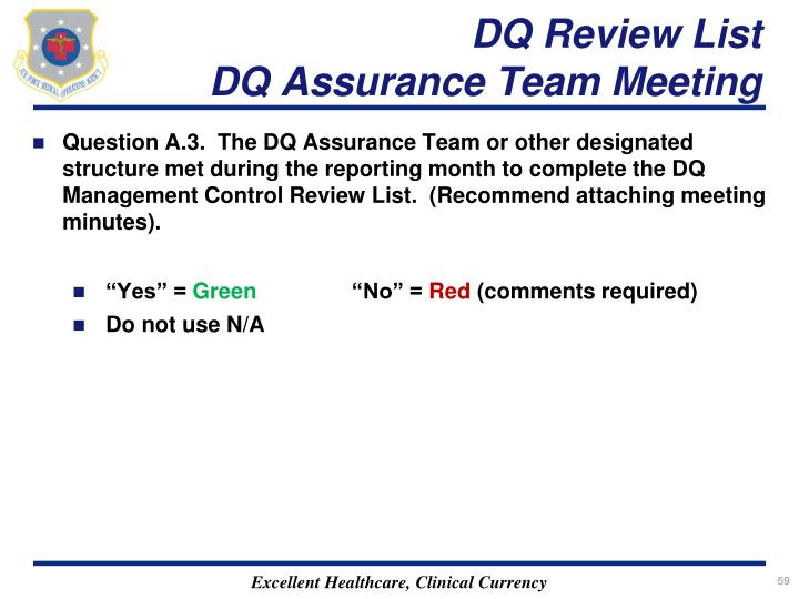 DQ Review List