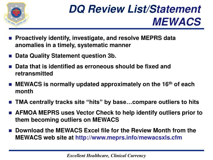 DQ Review List/S