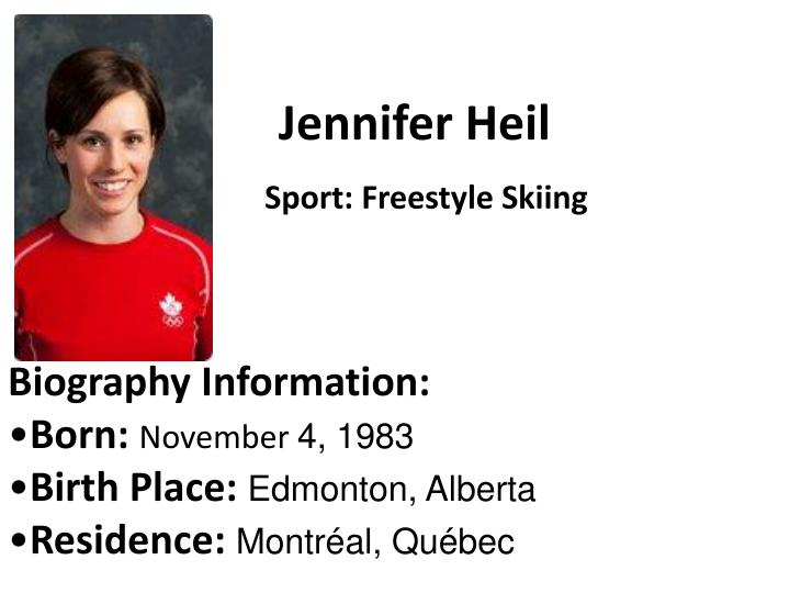 Jennifer Heil