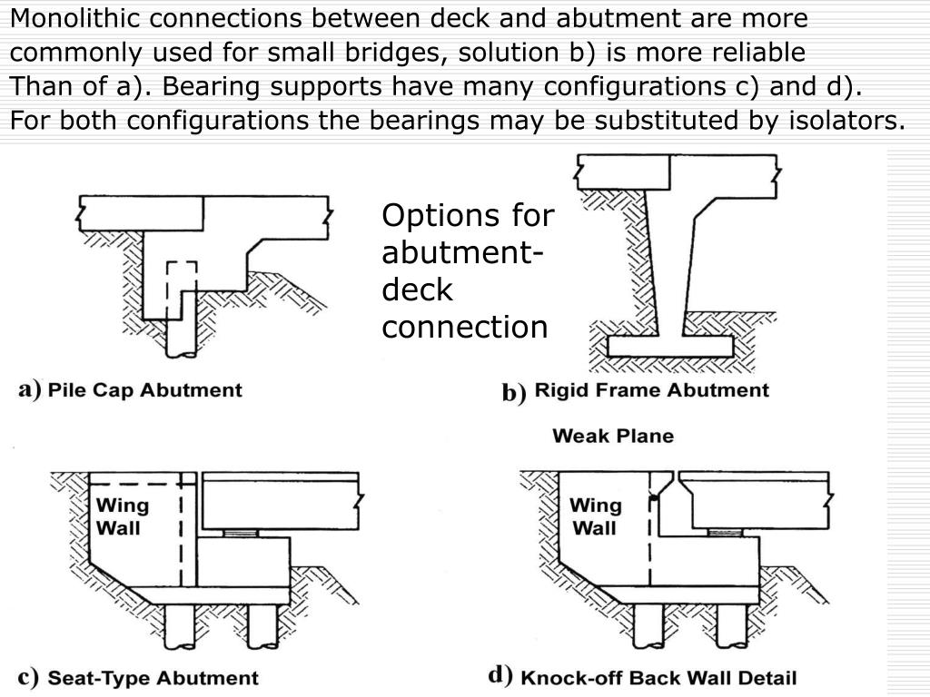 PPT - CONCEPTUAL DESIGN AND CONTROL OF BRIDGE STRUCTURES IN