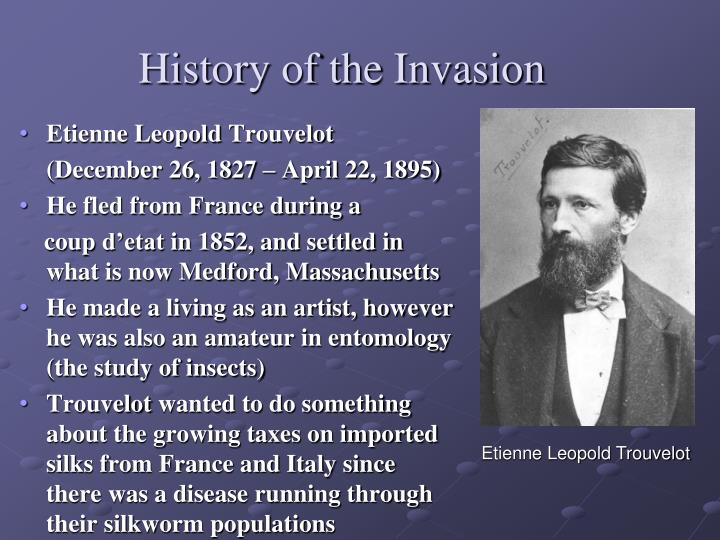 History of the invasion