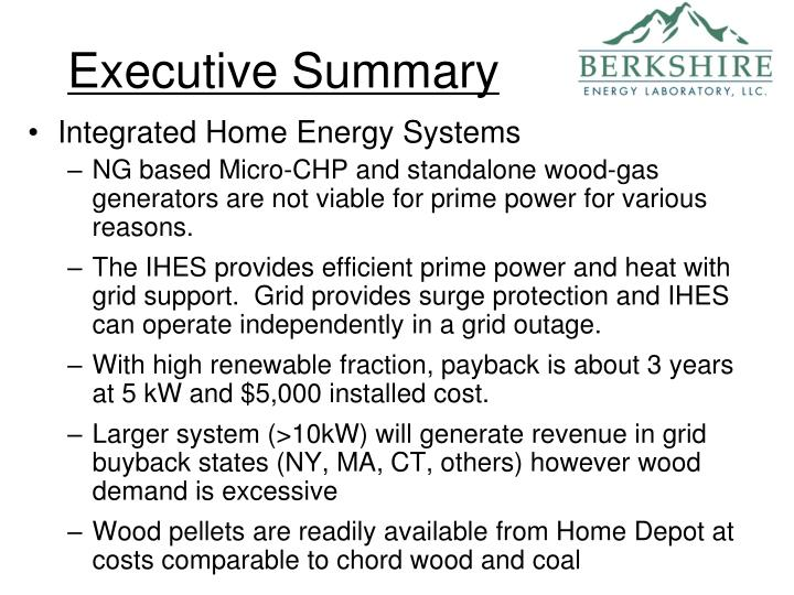 PPT - Integrated Home Energy & Sludge to Fuel PowerPoint ...
