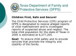 texas department of family and protective services dfps
