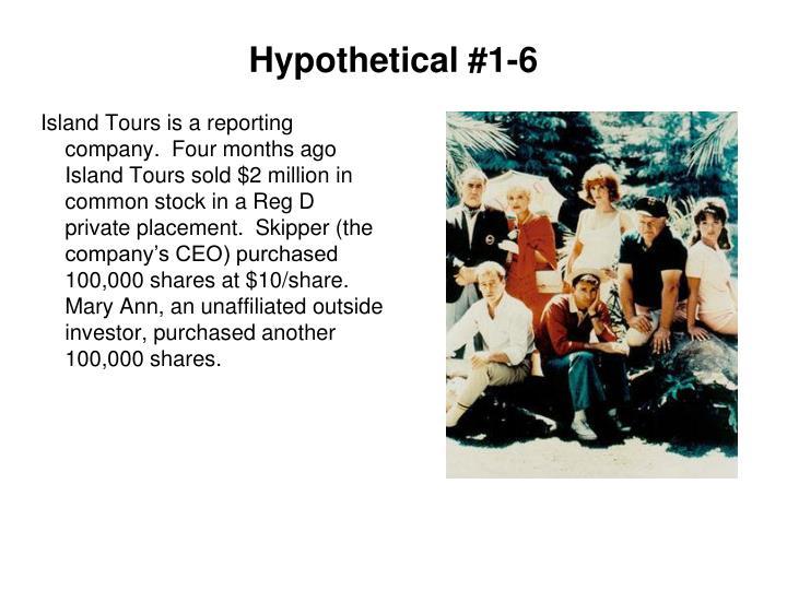 Hypothetical #1-6