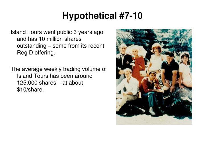 Hypothetical #7-10