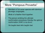 more pompous proverbs2