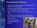 neuromuscular summary4