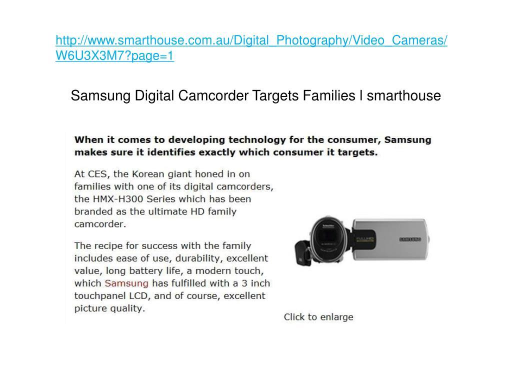 http www smarthouse com au digital photography video cameras w6u3x3m7 page 1 l.