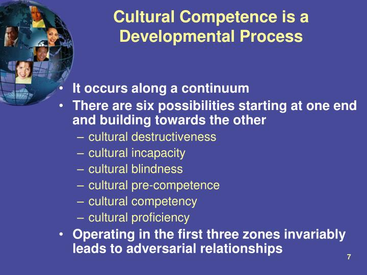 cultural competence is it necessary Cross-cultural competence helps cultural divide cross-cultural competence helps you develop the mutual understanding and human relationships that are necessary.