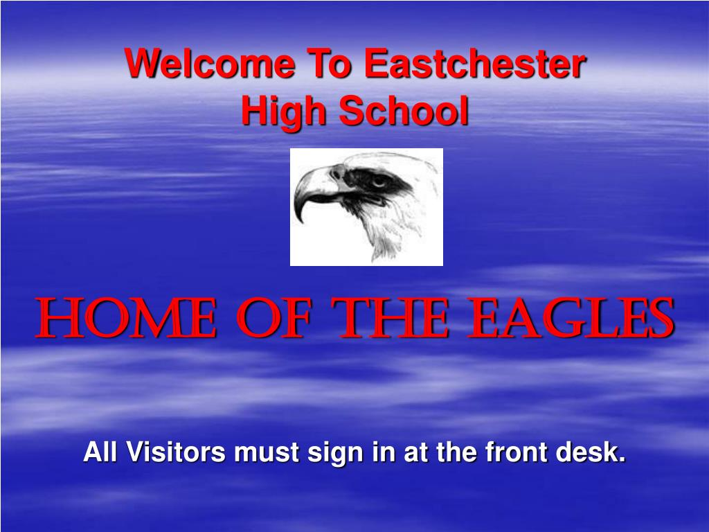 Welcome To Eastchester