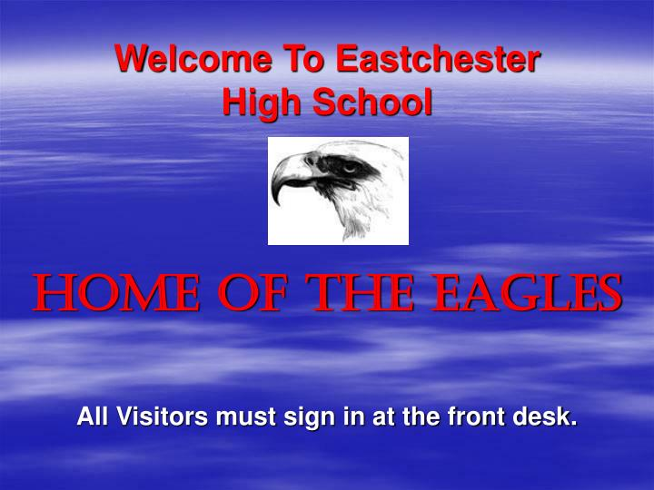 Welcome to eastchester high school
