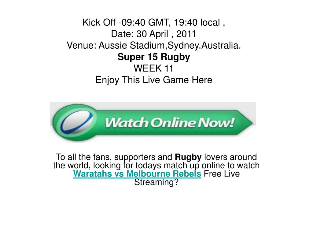Kick Off -09:40 GMT, 19:40 local ,