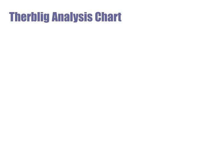 Therblig Analysis Chart