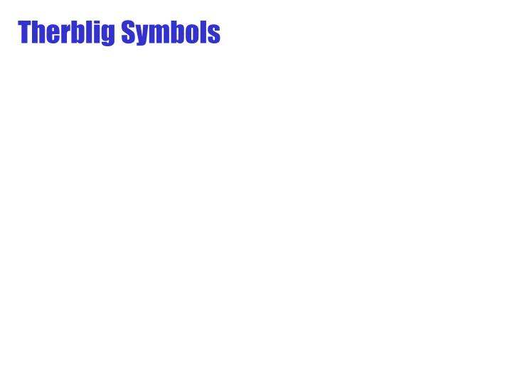 Therblig Symbols