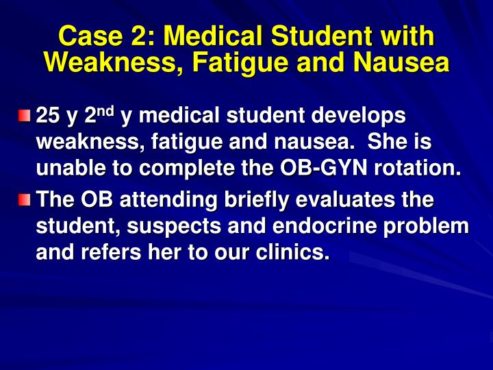 clinical case study fatigued a case on blood Fatigue fatigue and stress of wakefulness is the equivalent of 014 blood alcohol concentration during a fatigue fatigue case study created date.