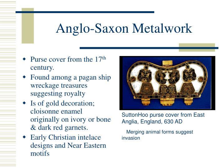Anglo-Saxon Metalwork