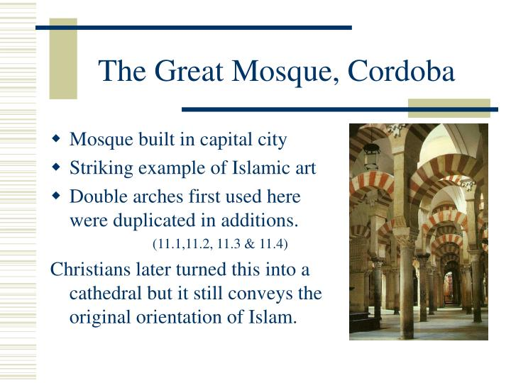 The Great Mosque, Cordoba