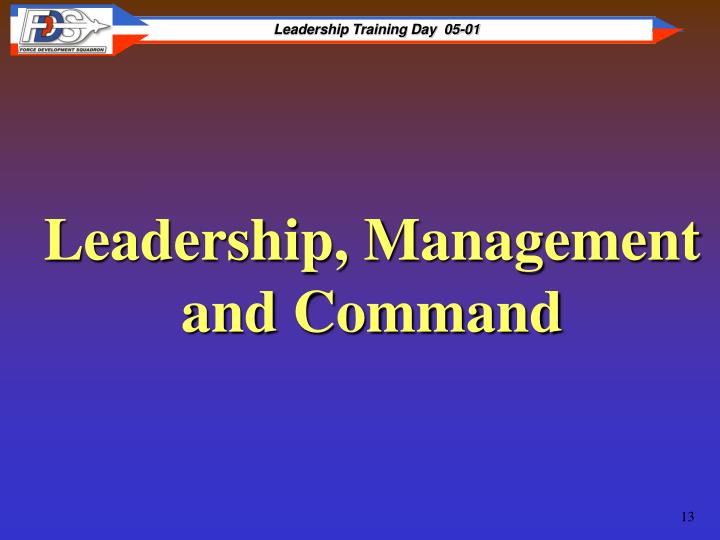 Leadership, Management