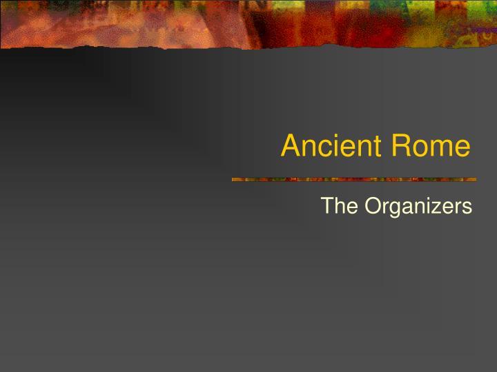 ancient rome n.