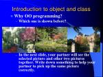 introduction to object and class1