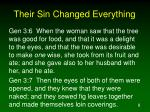 their sin changed everything