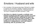 emotions husband and wife