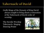 tabernacle of david1
