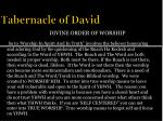 tabernacle of david11