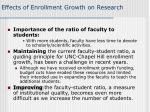 effects of enrollment growth on research1