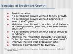 principles of enrollment growth