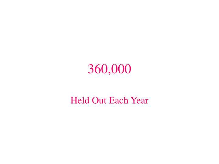 360,000