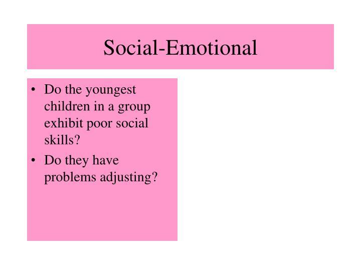 Social-Emotional