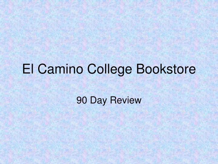 el camino college bookstore n.