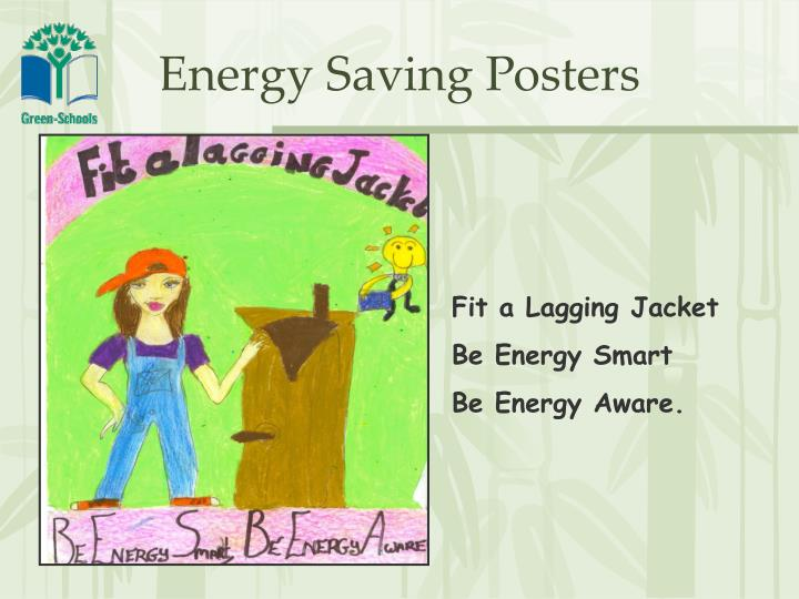 Energy Saving Posters