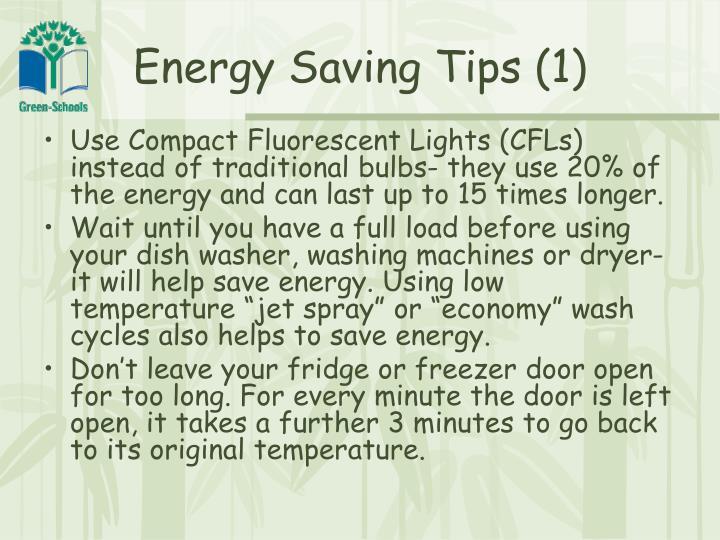 Energy Saving Tips (1)