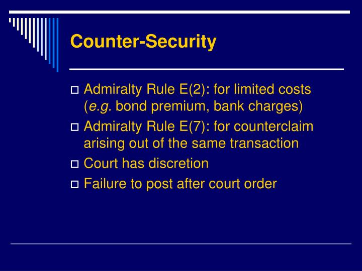 Counter-Security
