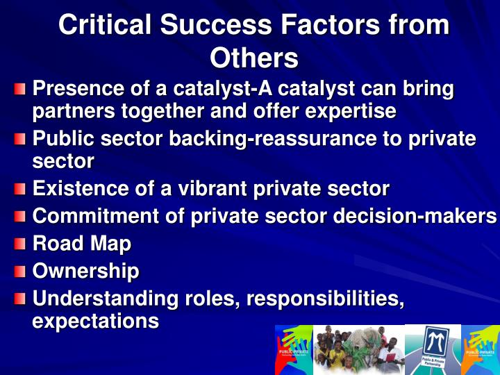 Critical Success Factors from Others