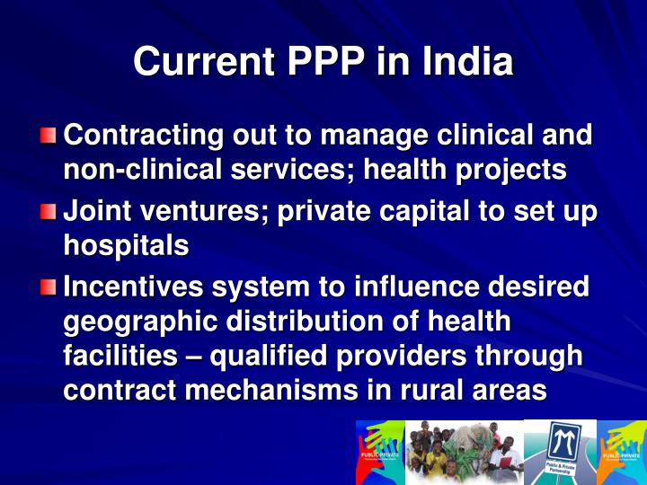 Current PPP in India