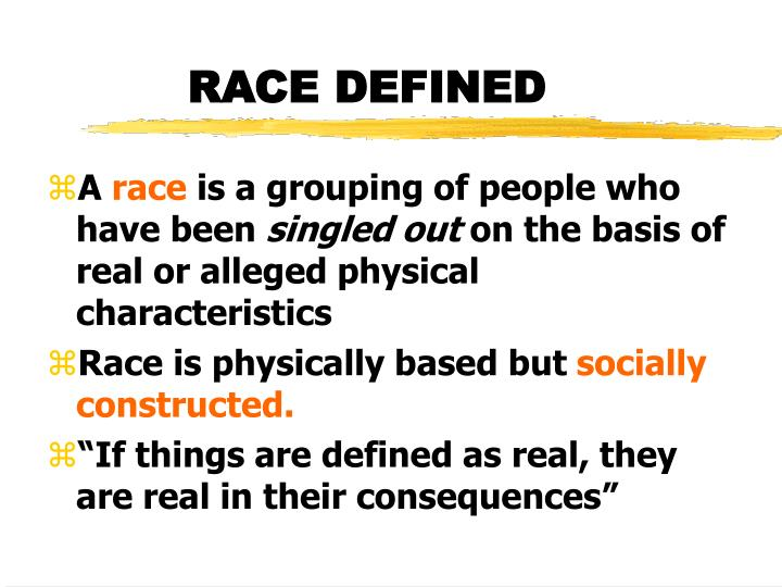 race socially constructed essay Read this full essay on social construction of race the concept of race has been socially constructed in a way that is broad and difficult to understand social construction can be defined as the set of rules are determined by society's urges and trends.
