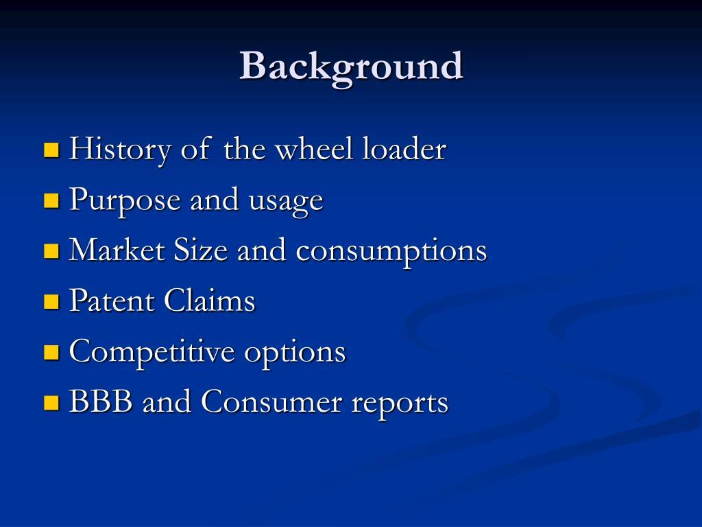 Ppt - Wheel Loader Design Powerpoint Presentation