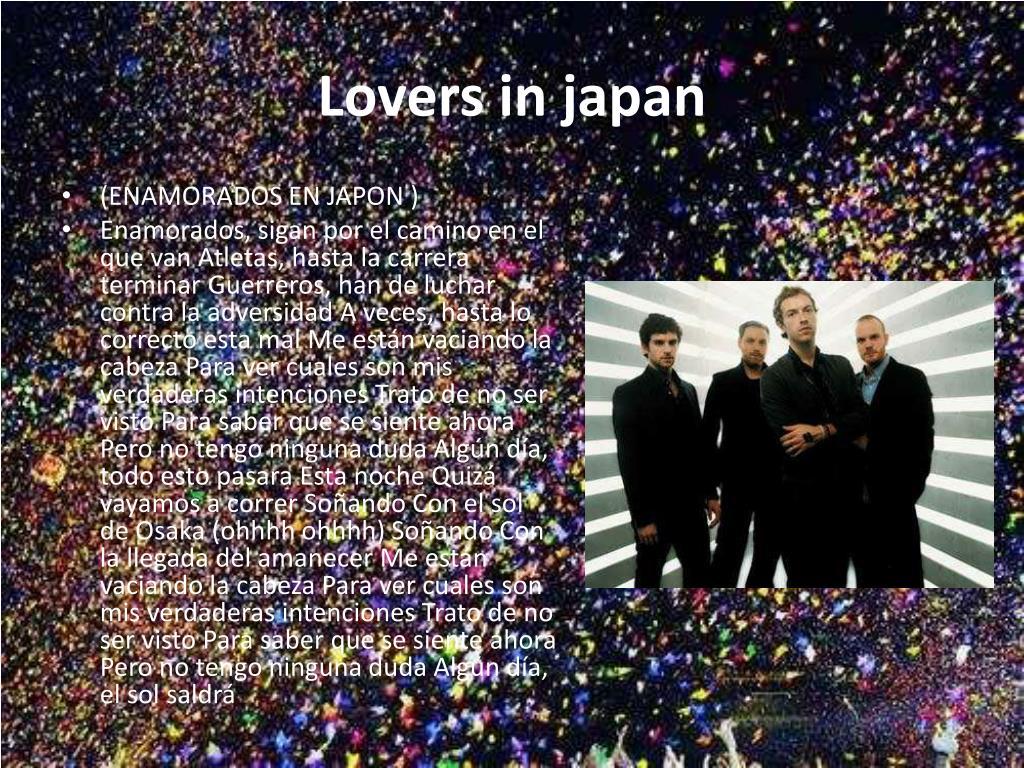 Lovers in japan