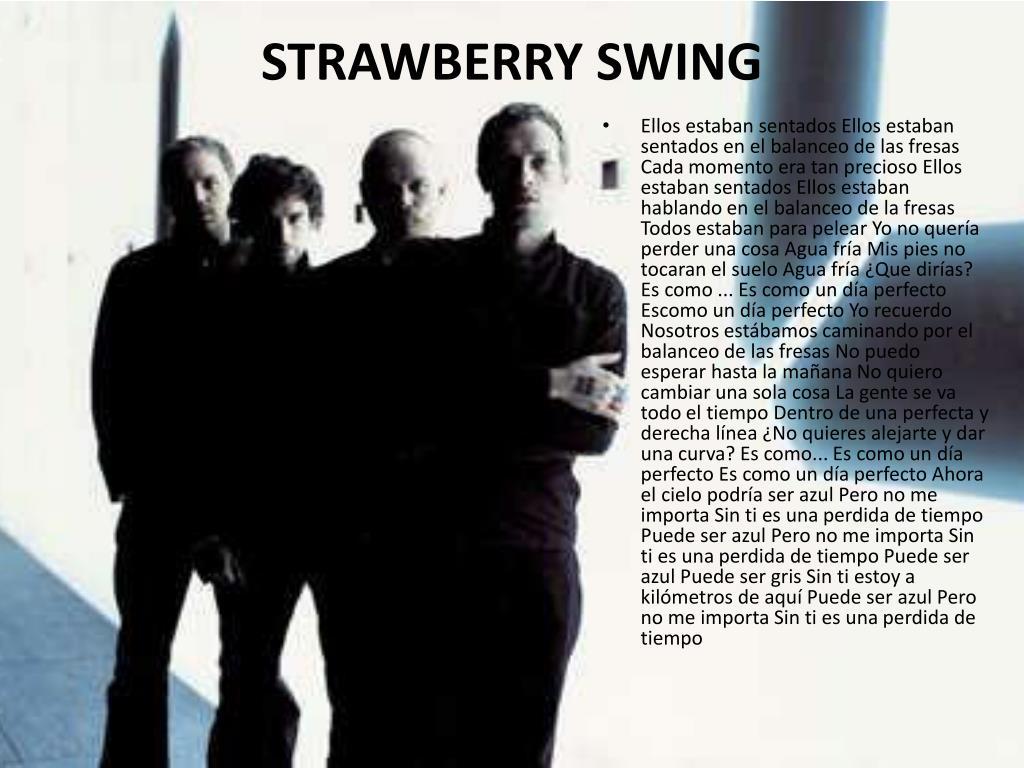 STRAWBERRY SWING
