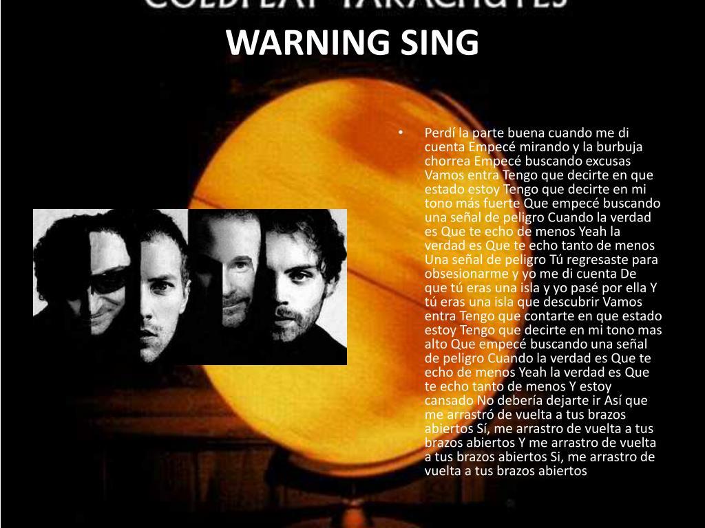 WARNING SING