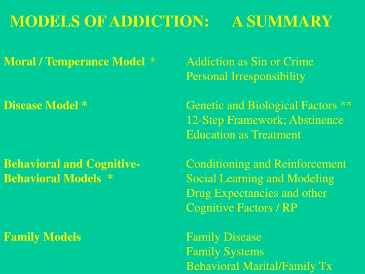 addictive personality behavior essay Although it is a fairly common concept, there is no medical or scientific definition of an addictive personality or addictive personality disorder addiction can be influenced by various factors in one's life, including social environment, family, psychology, and biology personality, which reflects the confluence of a number of individual traits, is one of.