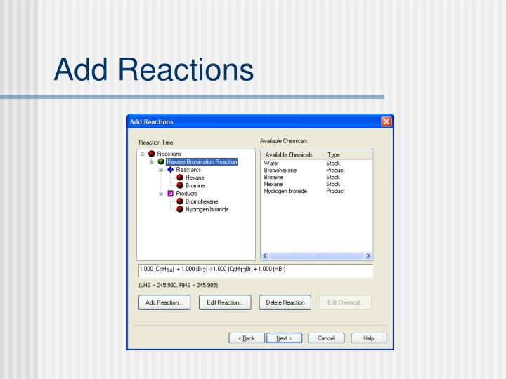 Add Reactions