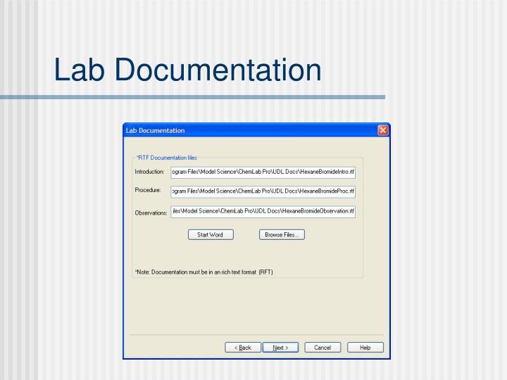 Lab Documentation