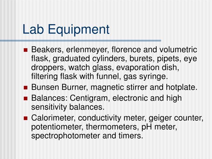 Lab Equipment