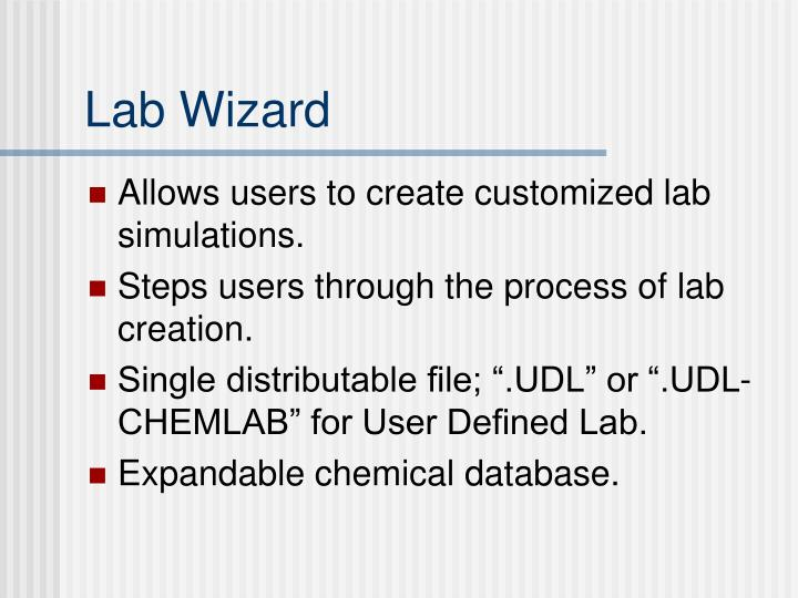 Lab Wizard