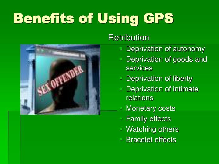 Benefits of Using GPS
