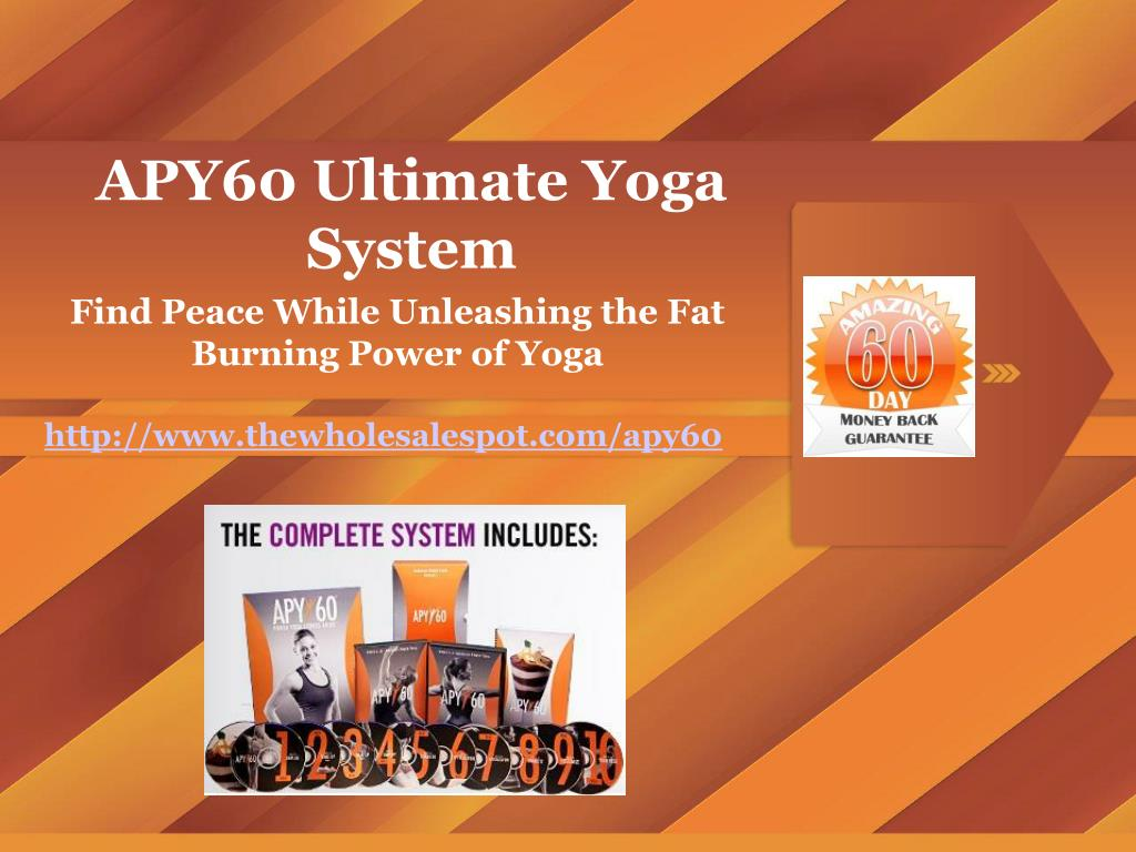 APY60 Ultimate Yoga System